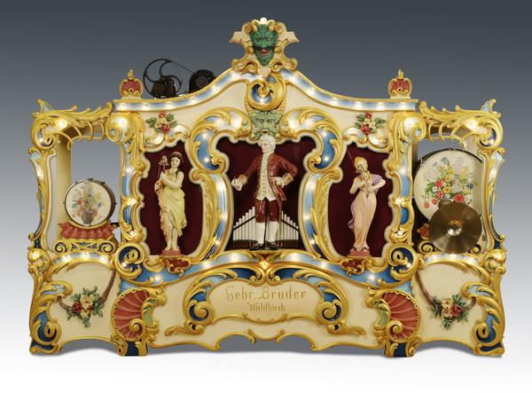 Gebruder Bruder fairground organ, circa 1908. Great Gatsby's Auction Gallery image