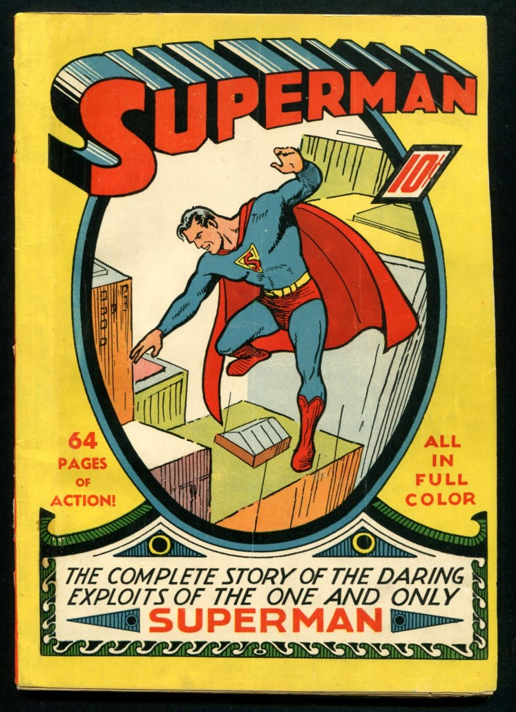 Superman Comic Book Soars To 32 500 At Philip Weiss Auction