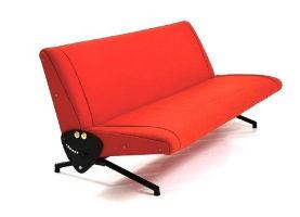 Like-new Borsani sofa starring in Nova Ars online auction Oct. 13