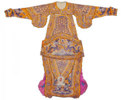 Soho Arts sale features Qing warrior robe Nov. 16