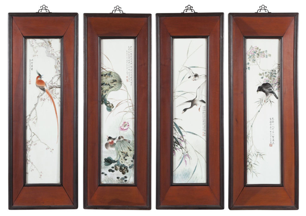 four-chinese-wall-panels