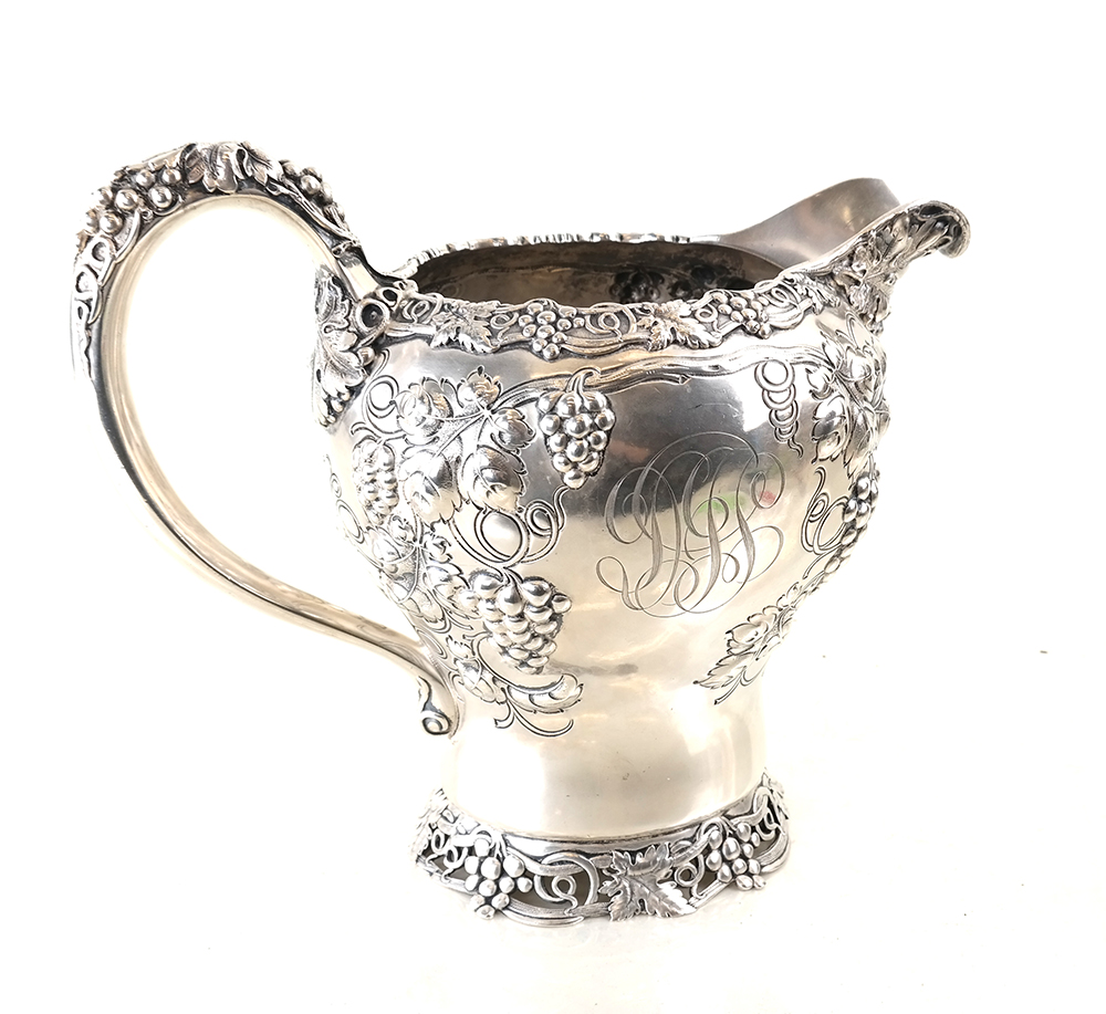 American sterling silver water pitcher. Estimate: $1,000-$1,500. Roland Auctions NY image