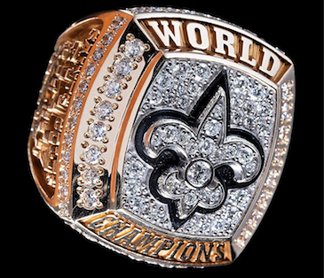 Auctions: Saints Super Bowl Ring, Lucas-signed Star Wars Lightsaber, and More Fresh News