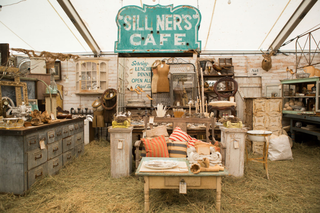 Industrial, farmhouse and early American antiques were on the lists of many customers at the fall show. Marburger Farm Antique Show image
