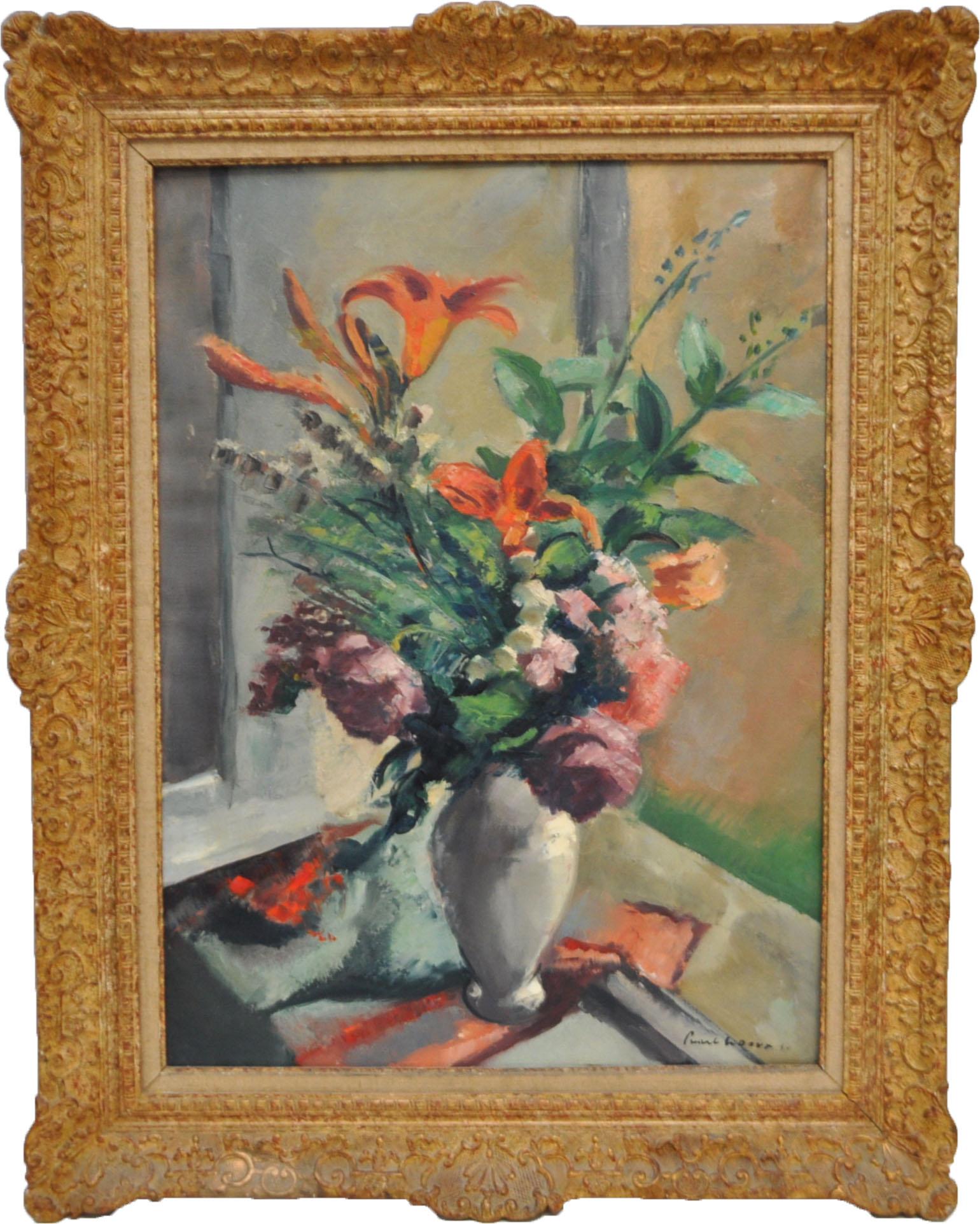 Charles Alexandre Picart le Doux, 'Bouquet de Fleurs.' Estimate: $1,800-$2,200. Charleston Estate Auctions image