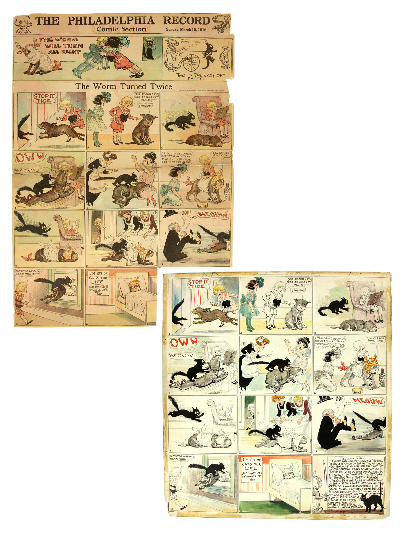 buster-brown-comic-strips