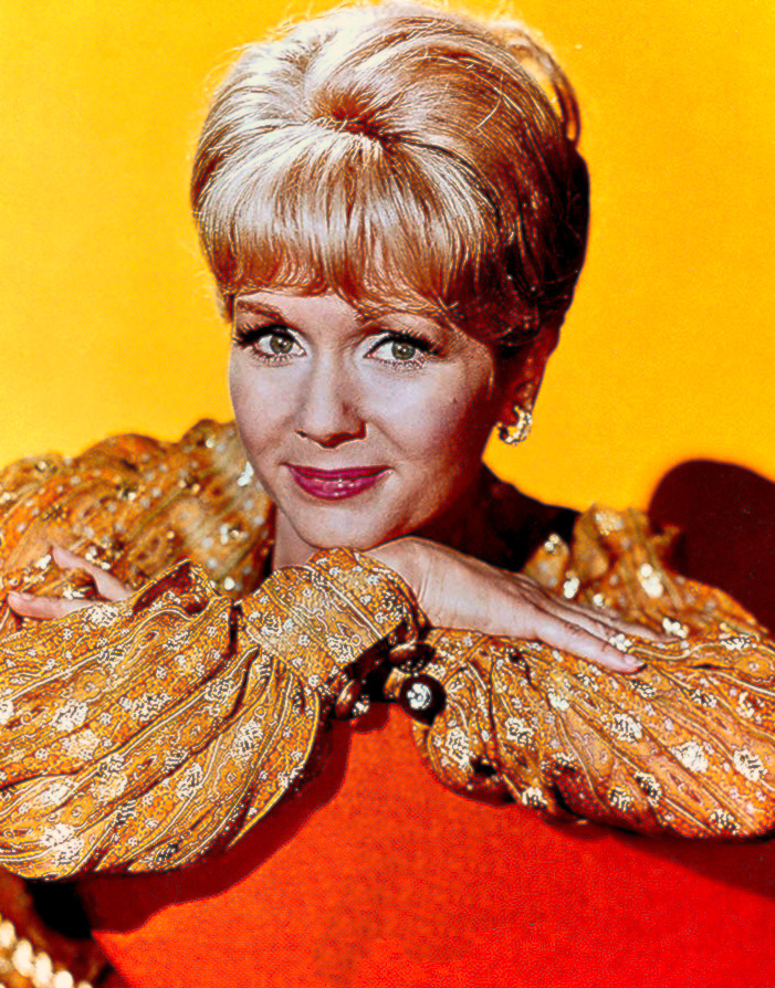 Debbie Reynolds in a circa 1970 publicity photo. Image courtesy of Wikimedia Commons