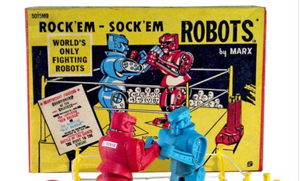 Giant Rock 'em Sock 'em Robots game to debut at Dave & Buster's