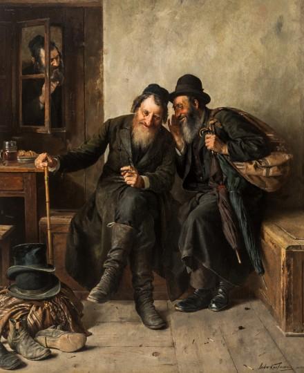 isidor-kaufmann-painting