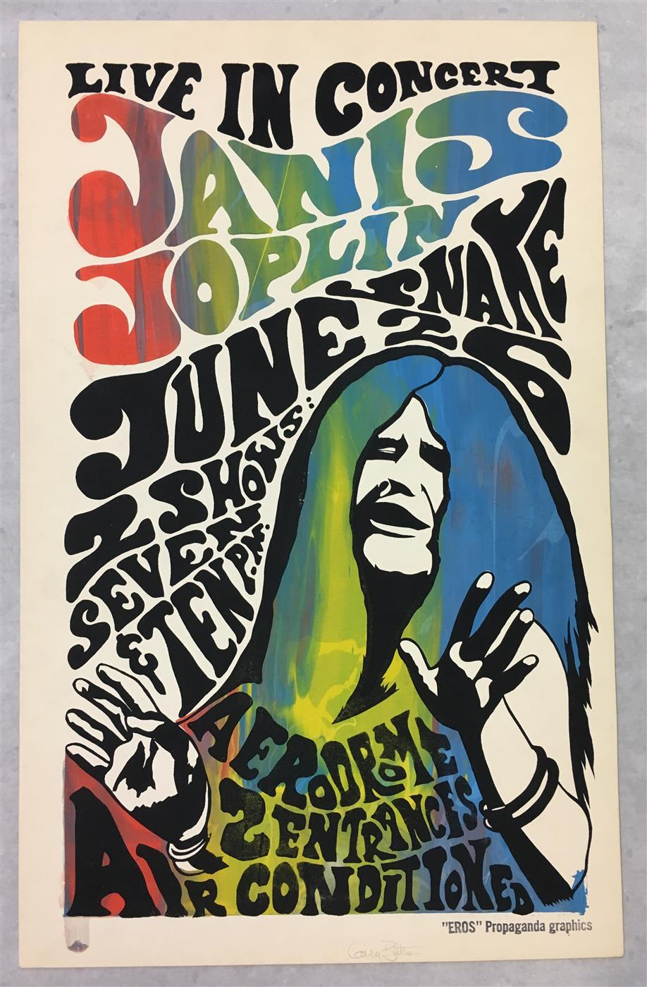 Rare Rock Concert Posters Ready To Roll At Weiss Auctions Dec 17 18