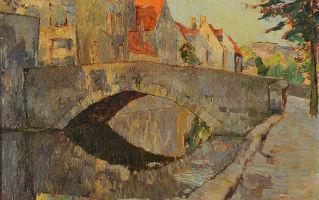 Landscape paintings lead off Michaan's auction Jan. 7