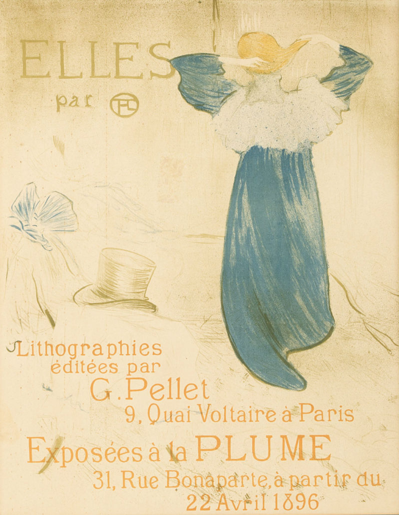 'Elles' by Henri de Toulouse-Lautrec (1864-1901 French) will be offered at Moran's Dec. 6 decorative art auction with a $15,000 to $20,000 auction estimate. John Moran Auctioneers image