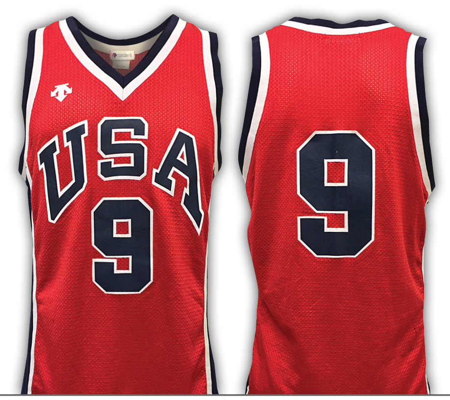 2eee94904f6 Earliest Michael Jordan 1984 Olympics jersey leads Grey Flannel Summer  Games Auction, June 21