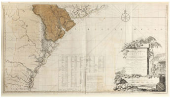 18th-century map of South Carolina sells for $38,000 at Leland Little Auctions