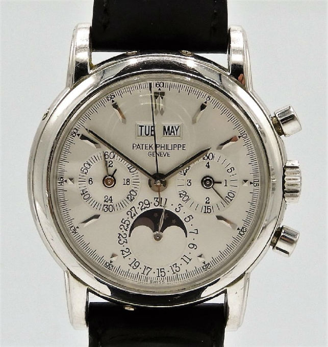 3cb35647a3f Patek Philippe watch strikes high note at Bruneau   Co. Auctioneers