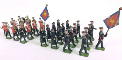 Old Toy Soldier Auctions offers prestigious collections from US, Denmark, Oct. 14