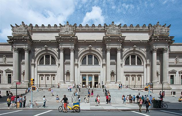 Met museum receives 80m gift from irving family