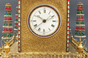 Royal Antiques winds up rare automaton clock for Oct. 19 auction