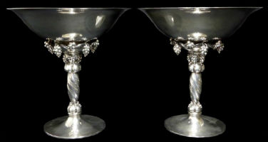 Jensen tazzas are toast of Antiques & Modern Auction Gallery sale Oct. 28