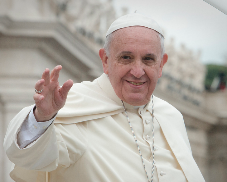 Pope gets a Lambo, but it's headed to auction