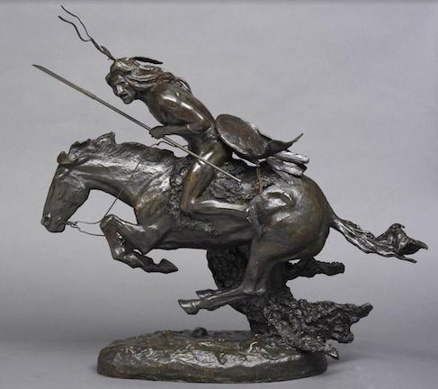 Cowboy mystique lives on in Remington bronzes