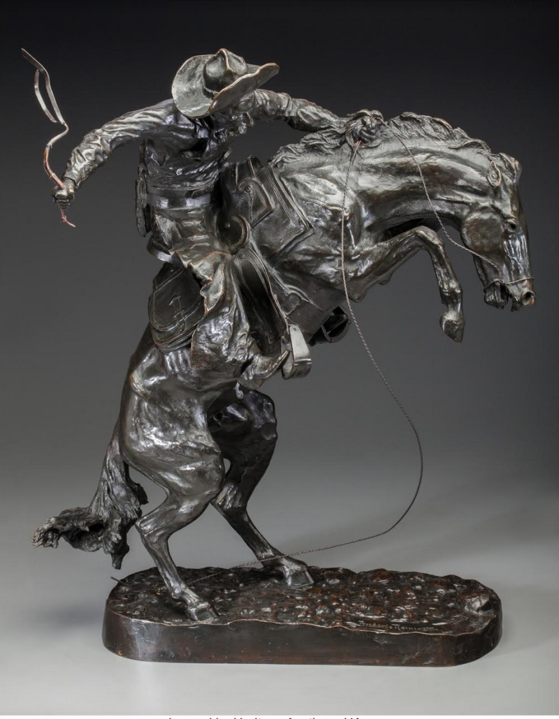 Frederic Remington bronze