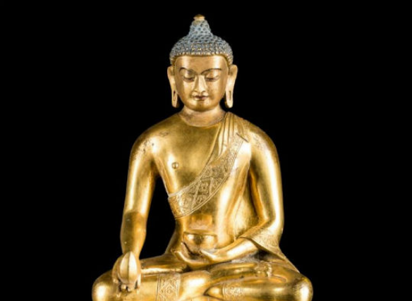 The Buddha in art steeped in tradition