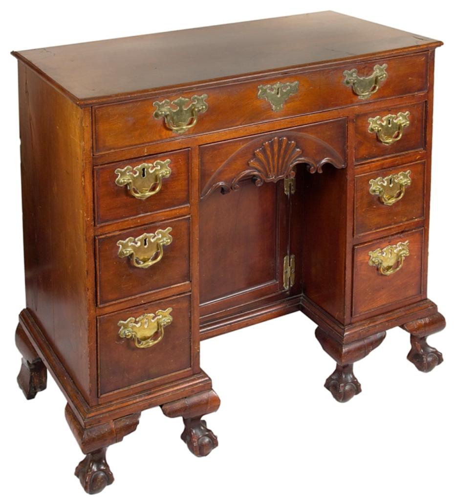 Transatlantic crossing historical American desk turns up in UK auction