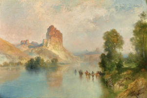 Painting the American West