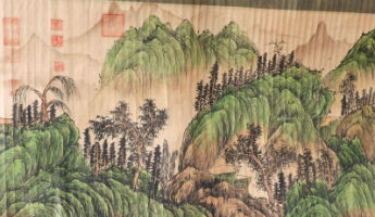 Huge Chinese poem scroll painting tops $72K at Bruneau & Co.