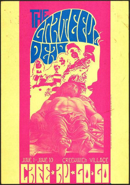 Rock on with Jasper52 concert poster sale April 3