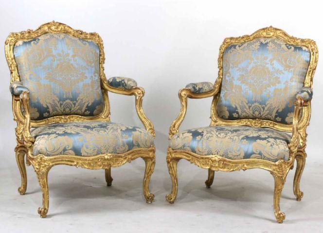 Louis Xv Fauteuils Soar To 225 000 At, Louis Xv Furniture