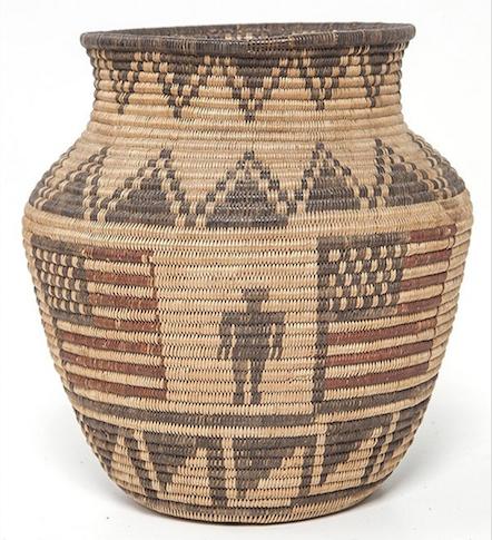 Woven legacies: Native-American baskets