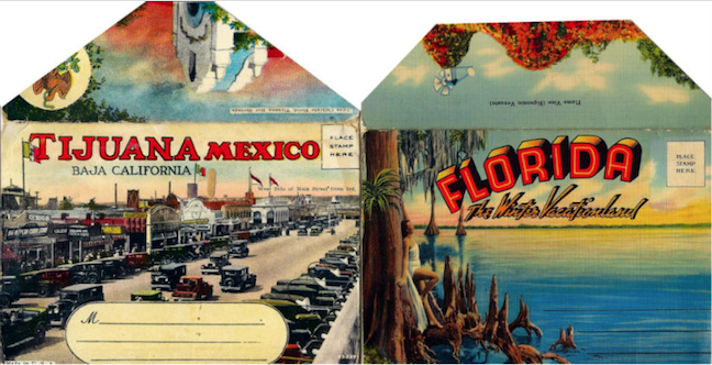 Identifying and dating collectible postcards