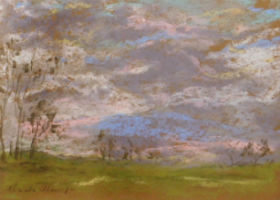 Monet drawings creating buzz for Woodshed auction March 15