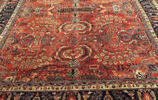 Fine antique Persian rugs entered in online auction March 28