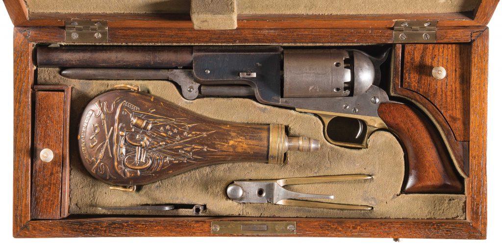 Colt revolver sets world auction record at $1.84 million