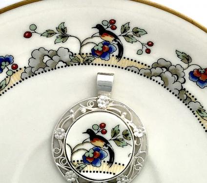 Encore: From brokenchina to custom jewelry