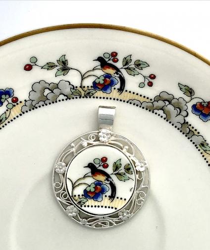 Encore: From broken  china to custom jewelry