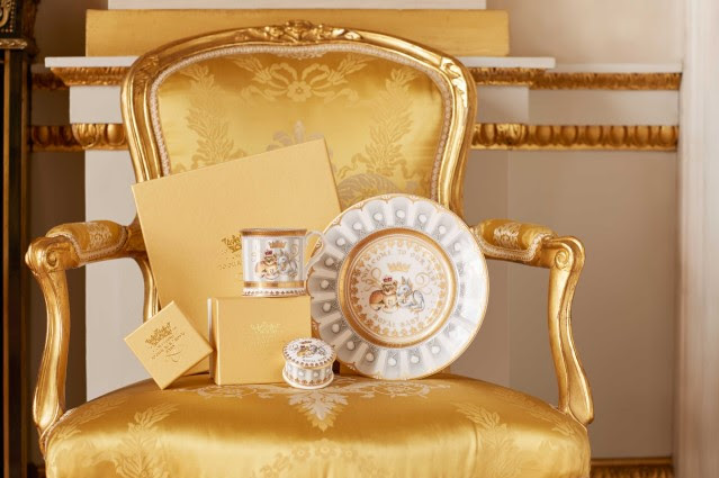Palace unveils collectibles commemorating new royal baby