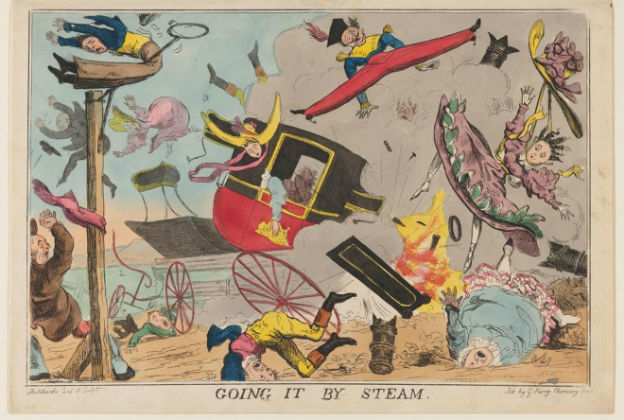 British satirical prints