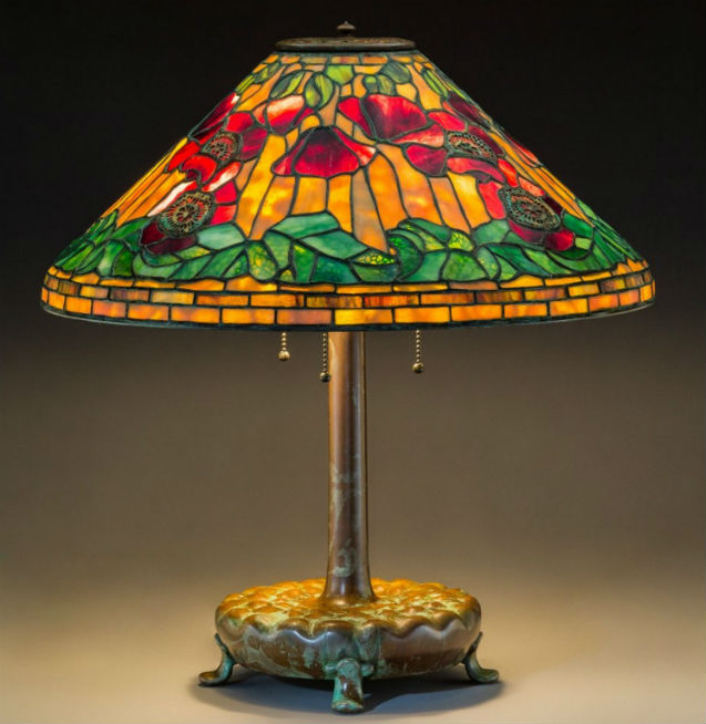 8682cdc16ad Tiffany lamps lead off Heritage Auctions art glass sale May 16