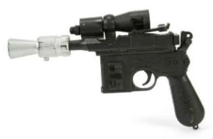 Han Solo's 'Star Wars' blaster sells for $550,000 at Julien's Auctions