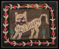Welcome to Colonial Williamsburg hooked rug exhibition Sept. 7