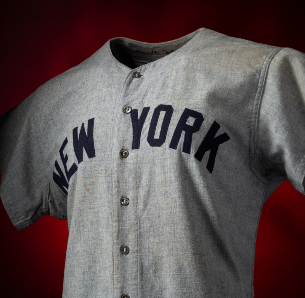 sports shoes 49c33 c22c3 Mickey Mantle jersey stuns hobby, sets record at $1.3M
