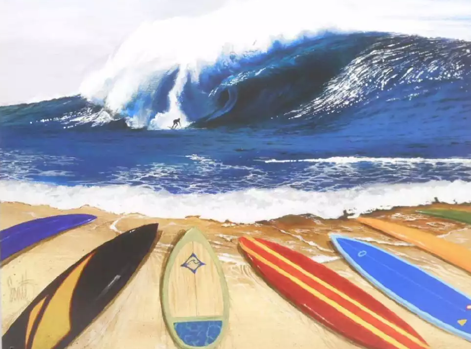 Surf's up in California, where it's now the official sport