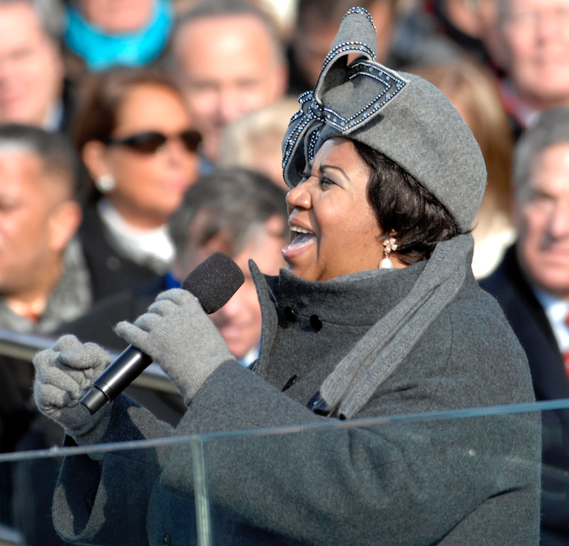 Pulitzers given to Aretha Franklin, author Richard Powers