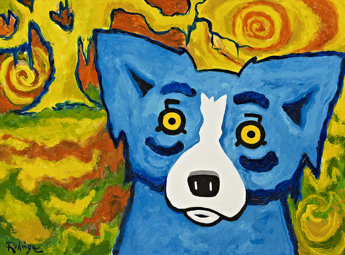 George Rodrigue: a legacy launched by the Blue Dog painting