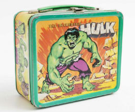 Hulk-size cache of lunchboxes to sell at Main Auction Galleries Sept. 30