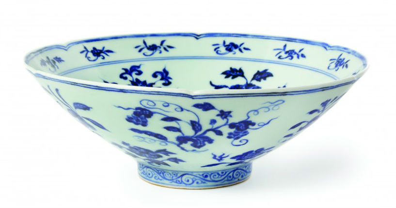 Ming porcelain vase
